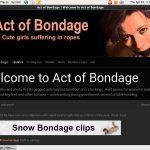 Act Of Bondage Discount 2018