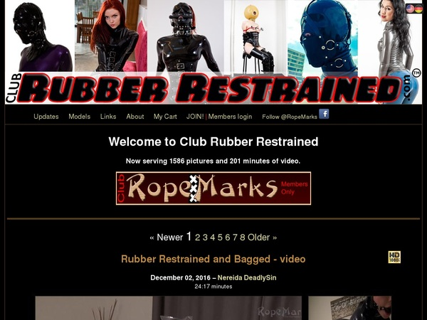 Club Rubber Restrained Free App