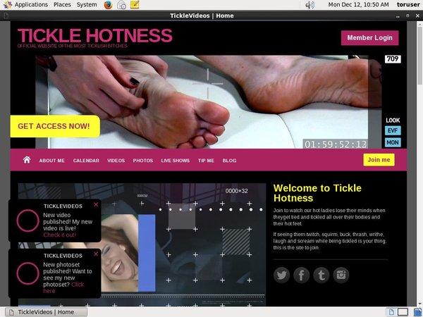 TICKLE HOTNESS Updates