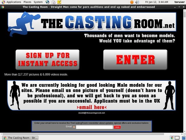 The Casting Room Become A Member
