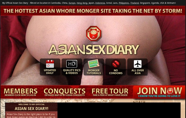 Asiansexdiary.com 3 Day Trial