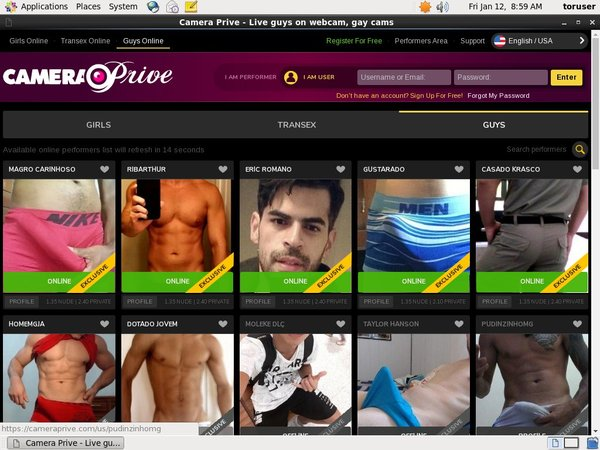 Camera Prive Gay Websites