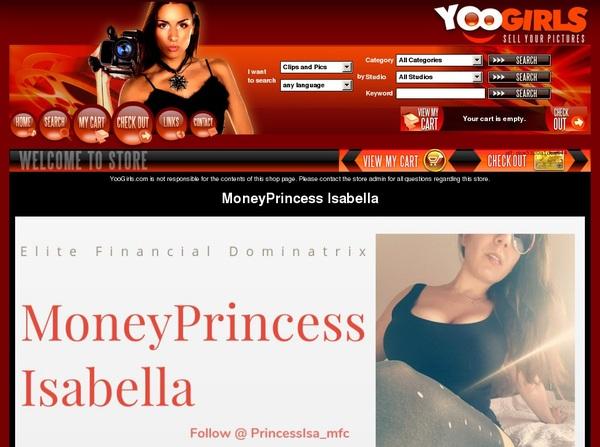 MoneyprincessIsabell Ad