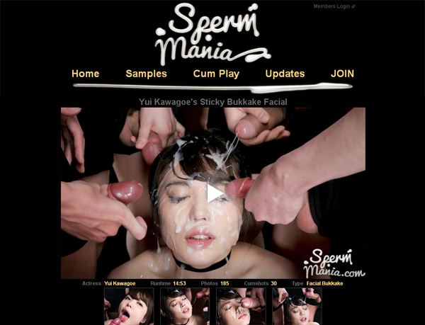 Spermmania Pay Site