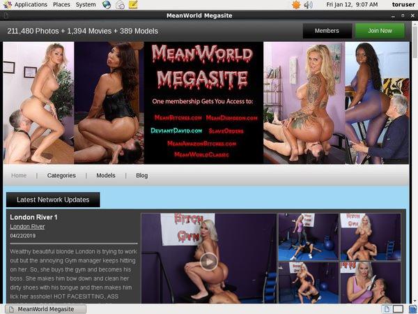 Meanworld Free Members