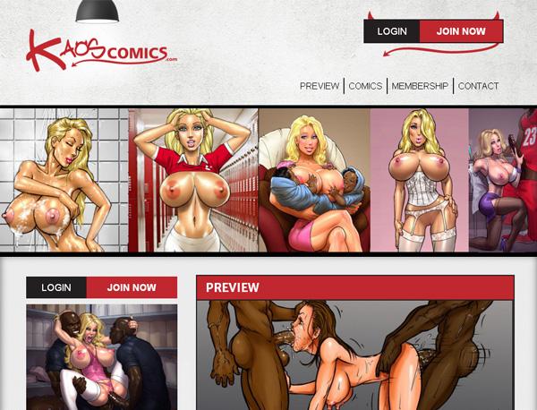 Kaos Comics Form