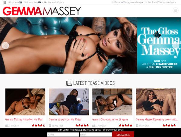 Im Gemma Massey Account Information