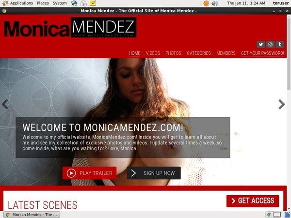 Monica Mendez Premium Membership