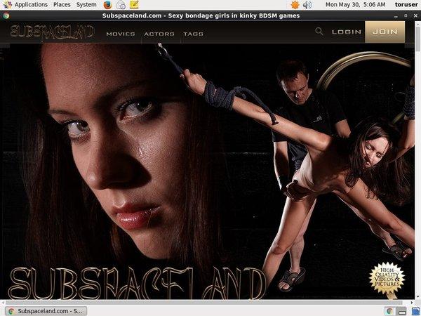 Subspaceland.com Free Preview