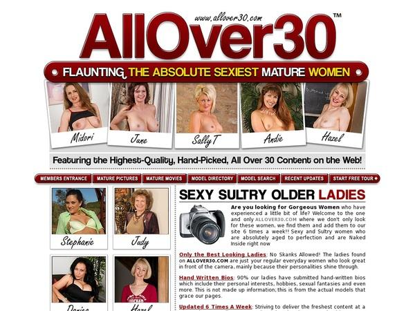 Allover30 Descuento