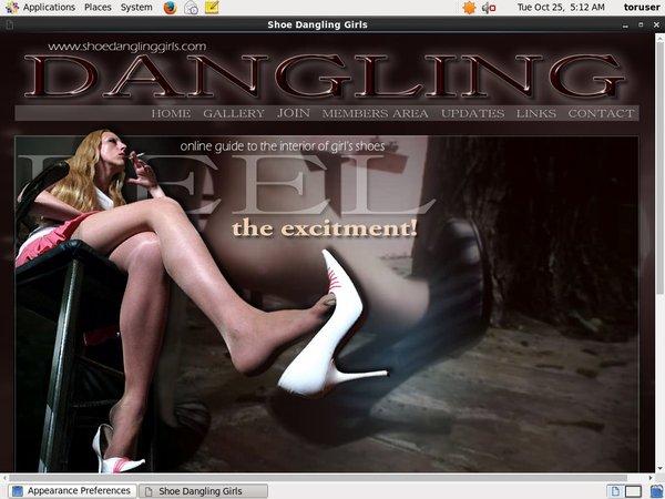 Free Video Shoedanglinggirls.com