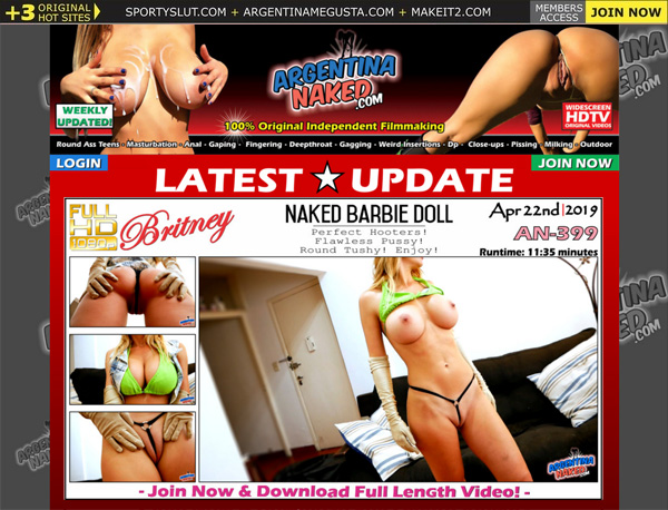 Argentinanaked.com Free Trial Coupon