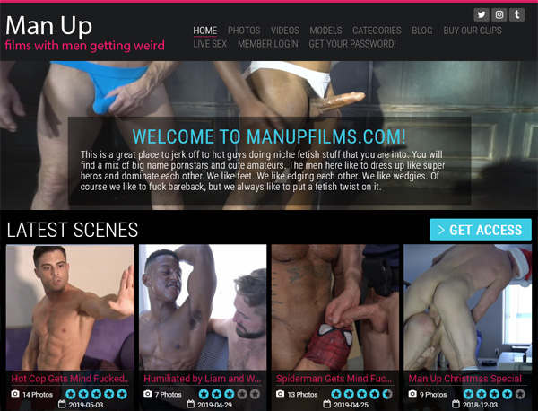 Get Man Up Films Day Trial